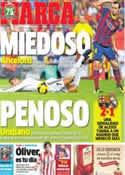 Portada diario Marca del 27 de Octubre de 2013