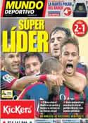 Portada Mundo Deportivo del 27 de Octubre de 2013
