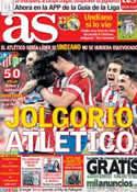 Portada diario AS del 28 de Octubre de 2013