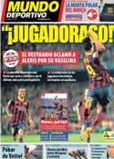 Portada Mundo Deportivo del 28 de Octubre de 2013