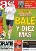 Portada diario AS del 29 de Octubre de 2013