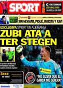 Portada diario Sport del 29 de Octubre de 2013