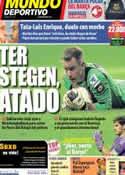 Portada Mundo Deportivo del 29 de Octubre de 2013