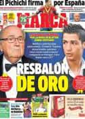 Portada diario Marca del 30 de Octubre de 2013
