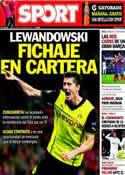 Portada diario Sport del 31 de Octubre de 2013