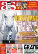 Portada diario AS del 1 de Noviembre de 2013