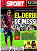 Portada diario Sport del 1 de Noviembre de 2013