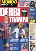 Portada Mundo Deportivo del 1 de Noviembre de 2013