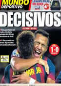Portada Mundo Deportivo del 2 de Noviembre de 2013