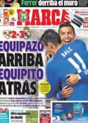 Portada diario Marca del 3 de Noviembre de 2013