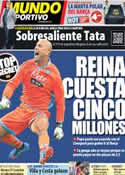 Portada Mundo Deportivo del 4 de Noviembre de 2013