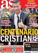 Portada diario AS del 5 de Noviembre de 2013