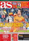 Portada diario AS del 6 de Noviembre de 2013