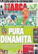 Portada diario Marca del 6 de Noviembre de 2013