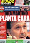 Portada Mundo Deportivo del 6 de Noviembre de 2013
