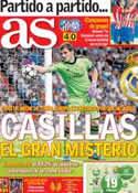 Portada diario AS del 7 de Noviembre de 2013