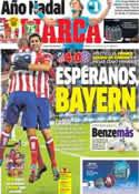 Portada diario Marca del 7 de Noviembre de 2013