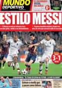 Portada Mundo Deportivo del 7 de Noviembre de 2013