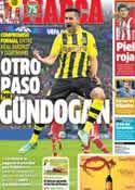 Portada diario Marca del 8 de Noviembre de 2013