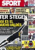Portada diario Sport del 8 de Noviembre de 2013