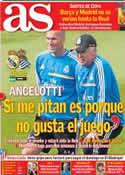 Portada diario AS del 9 de Noviembre de 2013