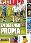 Portada diario Marca del 9 de Noviembre de 2013