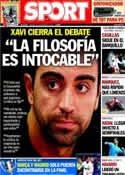 Portada diario Sport del 9 de Noviembre de 2013