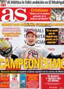 Portada diario AS del 11 de Noviembre de 2013