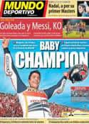 Portada Mundo Deportivo del 11 de Noviembre de 2013