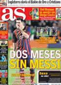 Portada diario AS del 12 de Noviembre de 2013