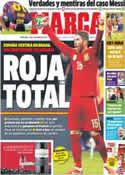 Portada diario Marca del 13 de Noviembre de 2013
