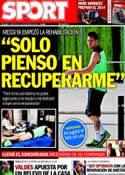 Portada diario Sport del 13 de Noviembre de 2013