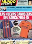 Portada Mundo Deportivo del 13 de Noviembre de 2013