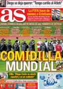 Portada diario AS del 15 de Noviembre de 2013