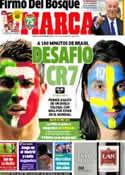Portada diario Marca del 15 de Noviembre de 2013