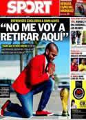 Portada diario Sport del 15 de Noviembre de 2013