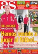 Portada diario AS del 16 de Noviembre de 2013