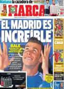 Portada diario Marca del 16 de Noviembre de 2013