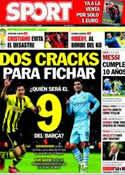 Portada diario Sport del 16 de Noviembre de 2013