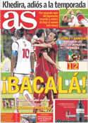 Portada diario AS del 17 de Noviembre de 2013