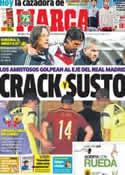 Portada diario Marca del 17 de Noviembre de 2013