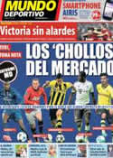 Portada Mundo Deportivo del 17 de Noviembre de 2013