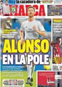 Portada diario Marca del 18 de Noviembre de 2013