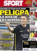 Portada diario Sport del 19 de Noviembre de 2013