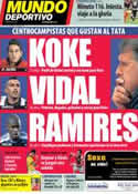 Portada Mundo Deportivo del 19 de Noviembre de 2013