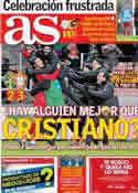 Portada diario AS del 20 de Noviembre de 2013