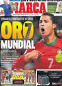 Portada diario Marca del 20 de Noviembre de 2013