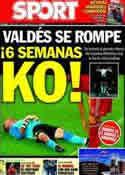 Portada diario Sport del 20 de Noviembre de 2013