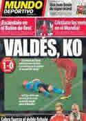 Portada Mundo Deportivo del 20 de Noviembre de 2013