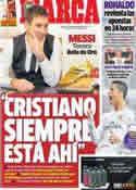 Portada diario Marca del 21 de Noviembre de 2013